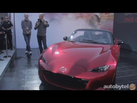 2016 Mazda MX-5 Miata Q&A with Derek Jenkins, Director of Design