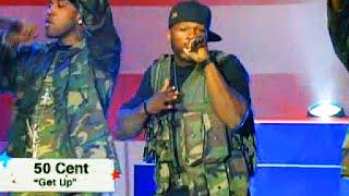 50 Cent - Get Up Live on Concert for the Brave 2008 (eminem50cent.ru)
