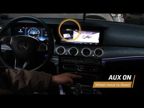 New E-CLASS W213 AUX SOLUTION (MB NTG 5 5 VIDEO-01)