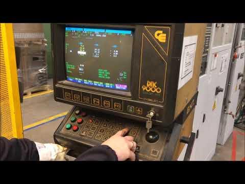 CNC hidraulikus élhajlító EHT EHPS 11-35 1992