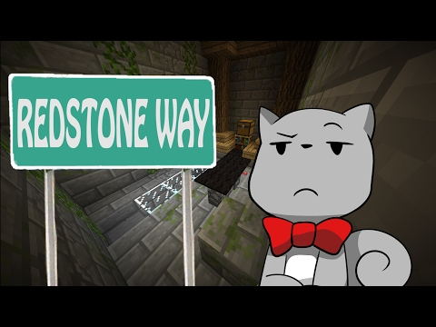 Learn the wool. Learn the Redstone. | Minecraft Puzzle Map RedstoneWay (видео)