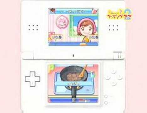 [NDS]《Cooking Mama 2: Dinner With Friends》(料理媽媽2:共進晚餐) 日本宣傳視