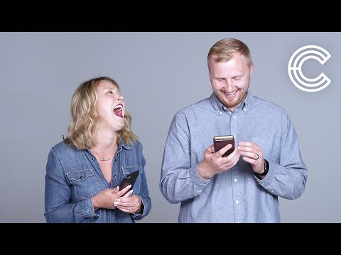 Couples Read Messages from Their Exes | Couples Describe | Cut
