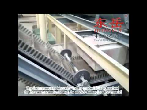 Autoclaved sand lime Processing line(Dongyue Brand)