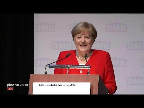 Rede von Bundeskanzlerin Angela Merkel beim Deutschen ...