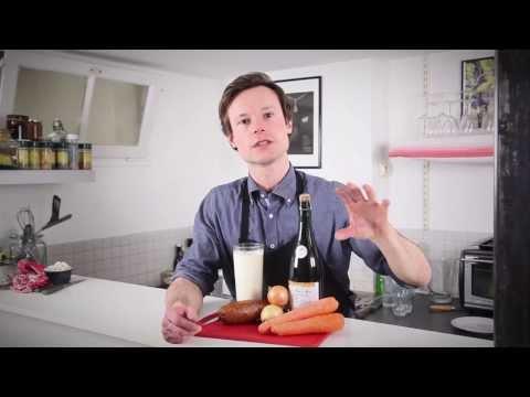 Morteau et ses carottes sauce au cidre