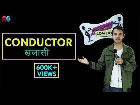 Conductor (Khalasi) | Nepali Stand up Comedy | Lekh Mani Trital | Nep-Gasm Comedy