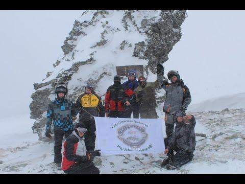 Снегоходная экспедиция на Перевал Дятлова. Команда
