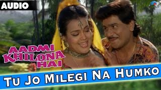 Aadmi Khilona Hai  Tu Jo Milegi Na Humko Full Audio Song With Lyrics  Govinda Meenakshi Seshadri