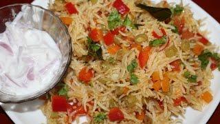 Tomato pulao - Tomato pulav - Thamil virundhu recipe