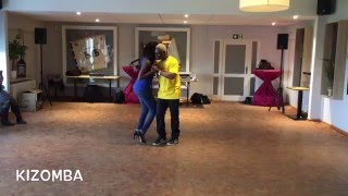 Kizomba Ben & Adama Flensburg 09.04.16 After Workshop Demo