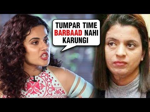 Taapsee Pannu REACTS To Kangana Ranaut's Sister Rangoli's 'SASTI COPY' Tweet