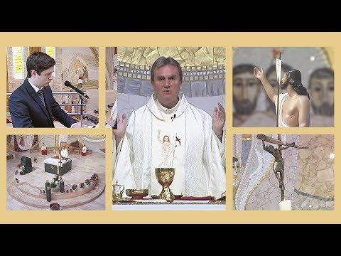 2020-04-19 2020-04-19 Az Isteni Irgalmasság vasárnapján szentmise a Gazdagréti Szent Angyalok Plébánián
