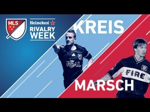 Throwback Thursday: Jason Kreis vs. Jesse Marsch as MLS Players