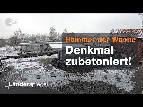 Bahnunterführung in Cloppenburg zubetoniert - Hammer  ...