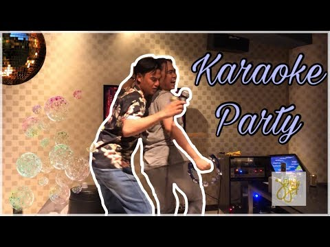 My First Vlog - Karaoke Night! (Ace Hotel & Suites Party Party Family KTV)