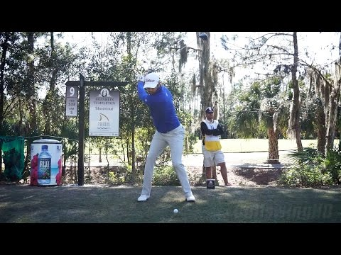 CAMERON TRINGALE – DRIVER GOLF SWING REGULAR & SLOW MOTION TIBURON COURSE TEMPLETON WIN 1080p