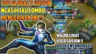 Video Top 2 Gusion Gak Bisa Disentuh !! Kombinasi Skill, Build & Item Ngeri Banget !! - Mobile Legends MP3, 3GP, MP4, WEBM, AVI, FLV Agustus 2018