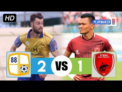 Barito Putera vs PSM Makassar 2-1 (16/04/2018) All Goal and Highlights