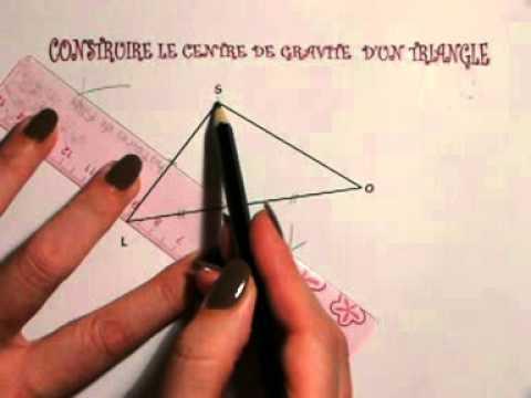 comment trouver x dans un triangle