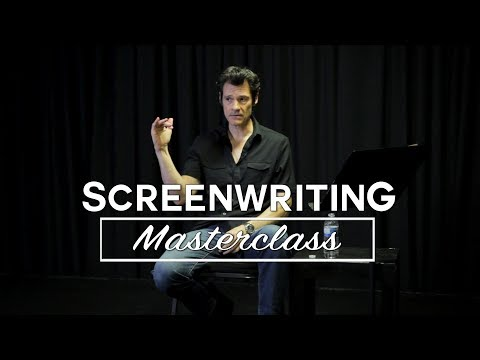 Learn How To Become A Working Screenwriter - Mark Sanderson [SCREENWRITING MASTERCLASS]