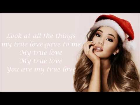 Ariana Grande ~ True love ~ Lyrics