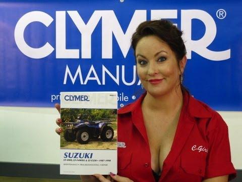 Clymer Manuals Suzuki LT-4WD Manual LT-F4WDX Manual LT-F250 Shop Manual Suzuki ATV Manuals Video