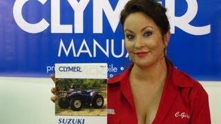 6. Clymer Manuals Suzuki LT-4WD Manual LT-F4WDX Manual LT-F250 Shop Manual Suzuki ATV Manuals Video