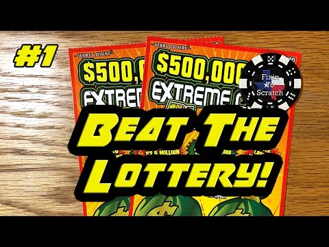 Beat The Lottery! Episode 1 - $20 $500,000,000 Extreme Ca$h Blast