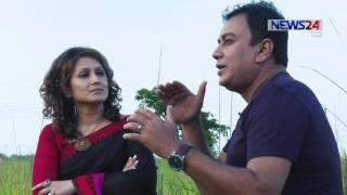 Je Jole Aagun Jole - Samia Rahman with Zahid Hasan (যে জলে আগুন জ্বলে - জাহিদ হাসান) On News24
