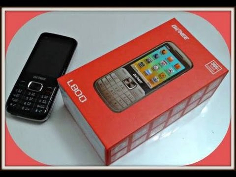 Gionee L800 unboxing HD