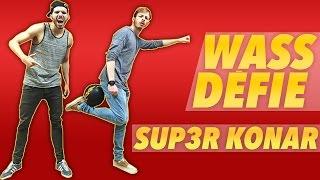 Video Wass défie Sup3r Konar au FREESTYLE FOOTBALL MP3, 3GP, MP4, WEBM, AVI, FLV Juli 2017