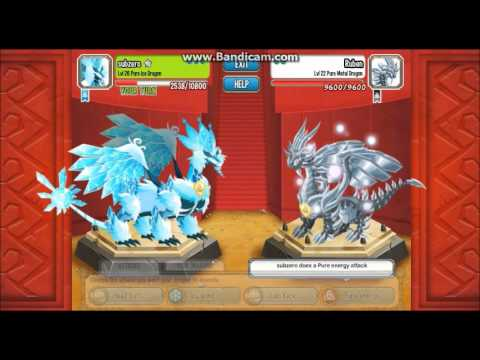 Pure Ice,Pure Dark and Pure Metal-Combat World Lv.54!!!