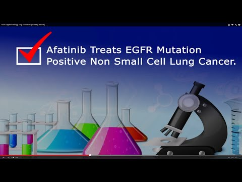 New Targeted Therapy Lung Cancer Drug Gilotrif ( Afatinib )
