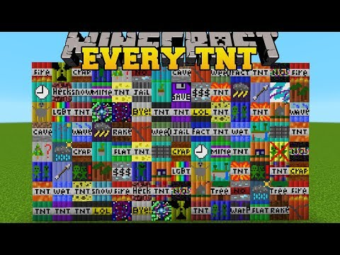 BLOWING UP EVERY Single TNT In Minecraft!