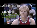Larry Bird 39 S Legendary 1986 87 88 3 Point Contest Champion Highlights All Final Rounds