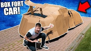 THE BOX FORT LAMBO CHALLENGE!