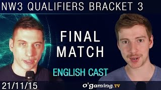 Final match - NationWars III - Qualifiers Bracket 3 - Match 3 [EN]