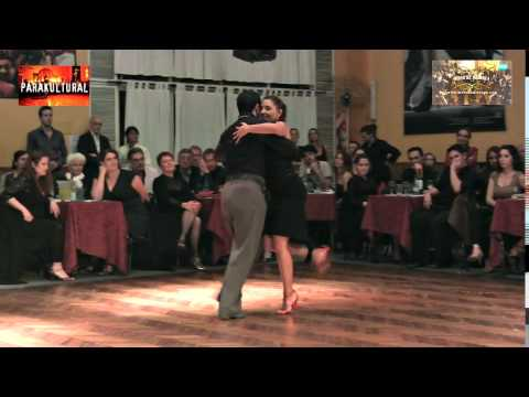 Karina Colmeiro y Ernesto Candal y Sexteto Pablo Valle en Salon Caning