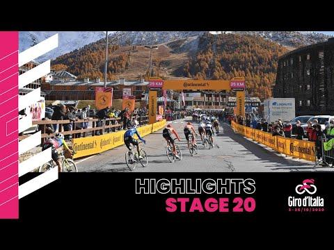 Giro d'Italia 2020 | Stage 20 | Highlights