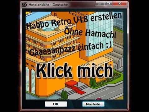Habbo v18 erstellen NO Hamachi (DEUTSCH) ganz einfach HD