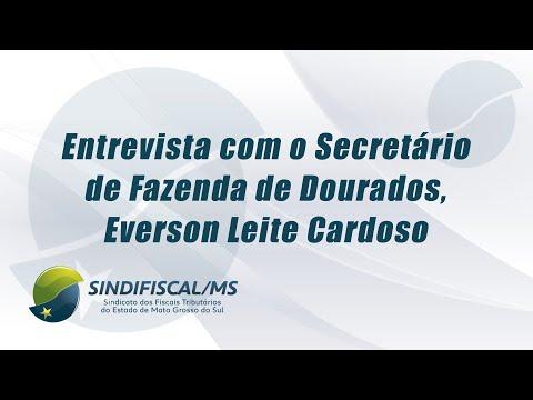 TV Sindifiscal/MS entrevista secretario municipal da Fazenda de Dourados – MS