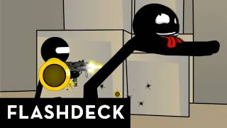 The fourth episode of the animated flash CS_series. The characters return from DE_dust to fight in de_aztec, joined by 4 new ...
