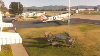 Condor Squadron Webcam Timelapse, Van Nuys Airport, KVNY, 01-24-2016