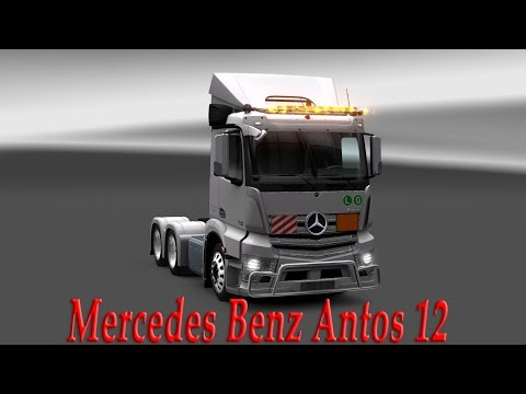 Mercedes Benz Antos 12 Modernization and addition
