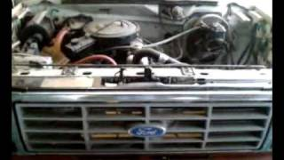 1983 Ford F150 300 Straight 6 5speed Cold Start