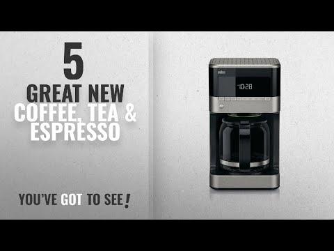 Top 10 Braun Coffee, Tea & Espresso [2018]: Braun KF7150BK Brew Sense Drip Coffee Maker, Black