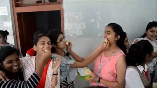 Students celebrate their  win as they come out  with flying colours in  SSC exams