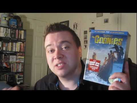 The Goonies Blu-Ray 25th Anniversary Ultimate Collector's Edition Unboxing Review