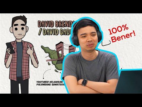 Mau diusir dari rumah... Reaction Draw My Life Indonesia - David GadgetIn